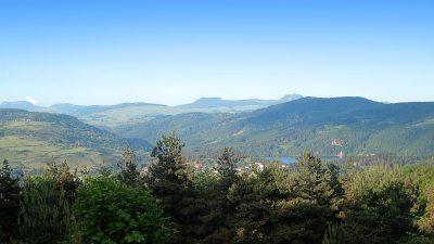 Vue panoramique depuis les hauteurs du village