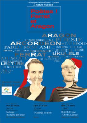 Poètes : Ferrat et Aragon