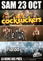 Concert Les Cocksuckers, Le Mur et Haraa
